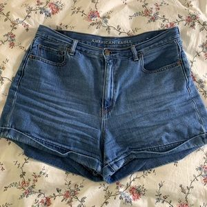 American Eagle High Waisted Jean Short